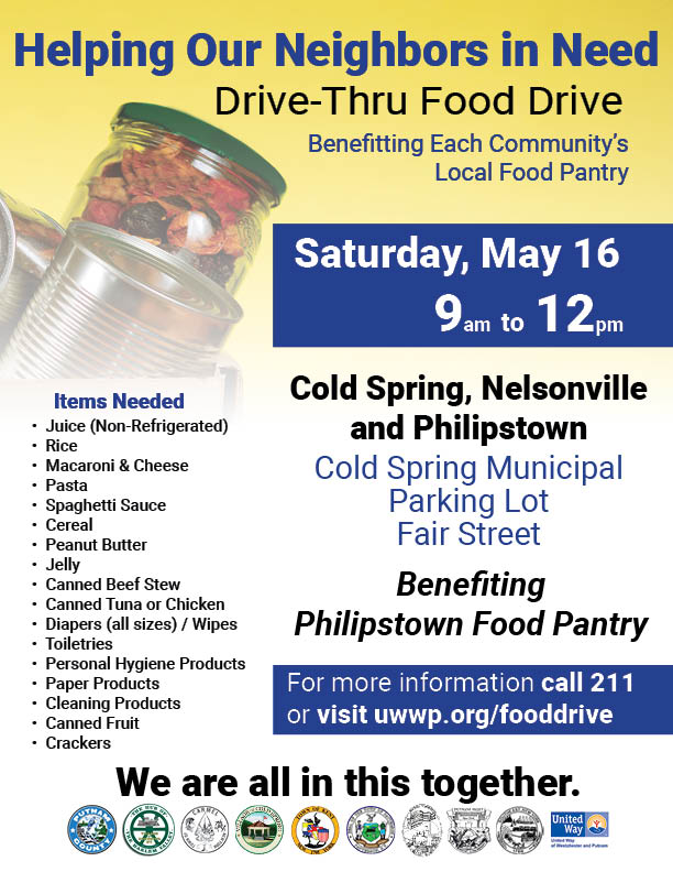 2020 05-12 Cold Spring Food Drive